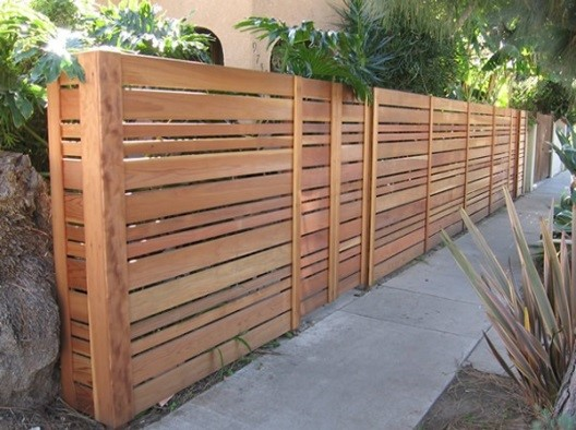 Boards & Slaters Lat Fence